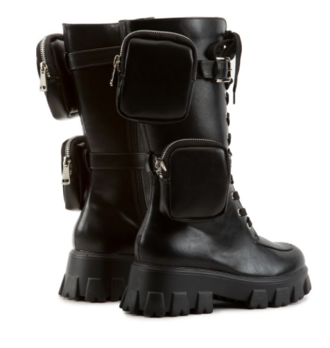 Mission~Black Combat Boot