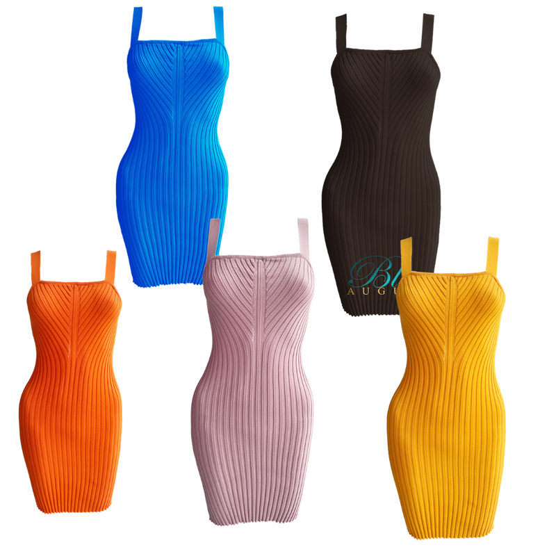 Salina~ Bodycon Sweater Mini Dress