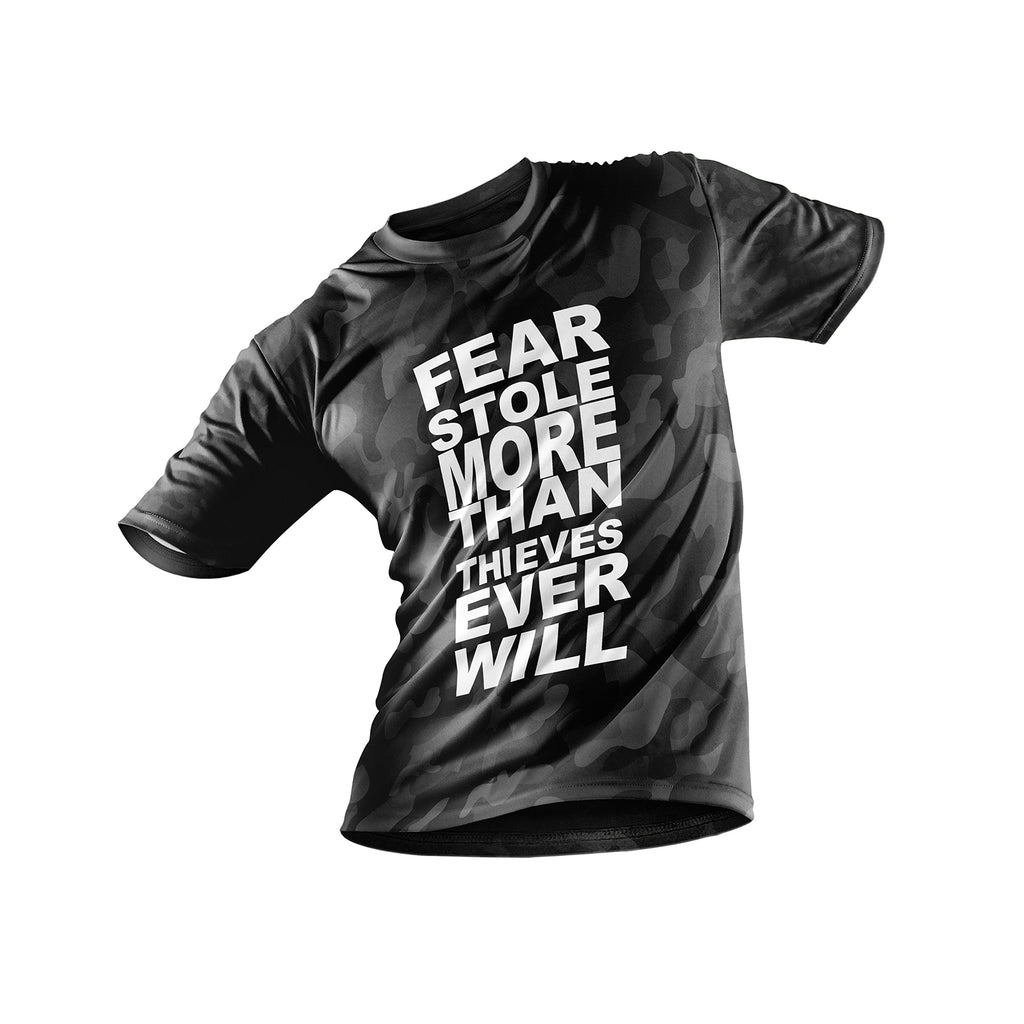FNXC Fear Stole More Black Camo T-Shirt