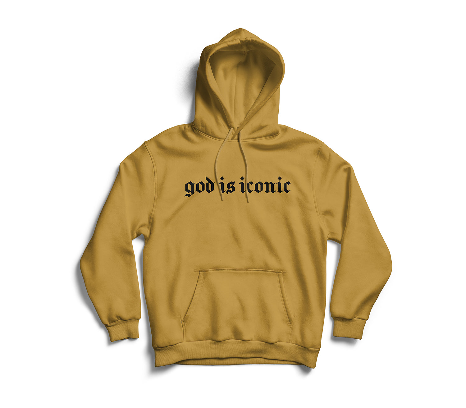 God Is Iconic Hoodie (Gold)