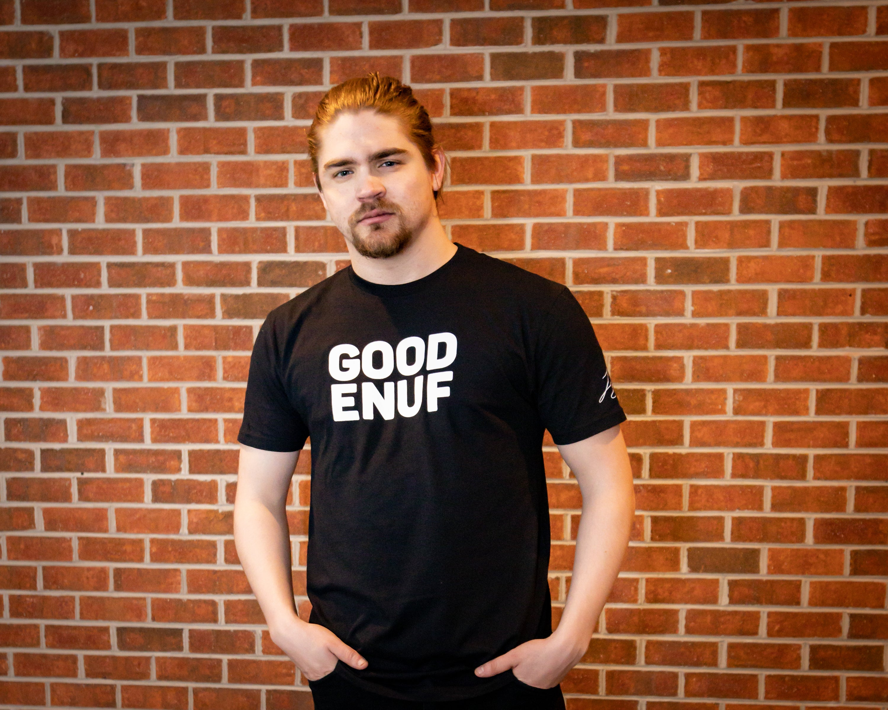 """GOOD ENUF"" (Black & White) T-Shirt"