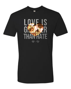 FNXC Love Is Greater Than Hate T-Shirt