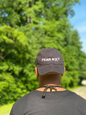 Fear NXT Black Dad Cap