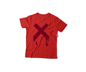 FNXC Red Monochrome T-Shirt