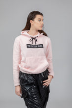 "Load image into Gallery viewer, Baby Pink ""JUST A HOODIE"""