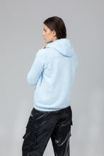 "Load image into Gallery viewer, Ocean Blue ""JUST A HOODIE"""