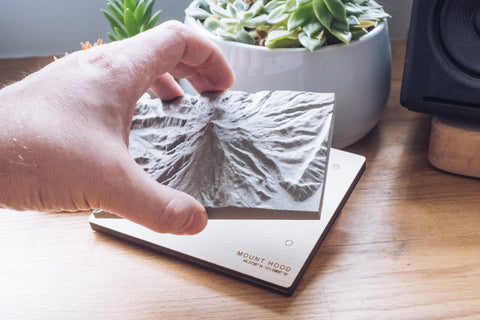 Tiny Topography magnetic mount