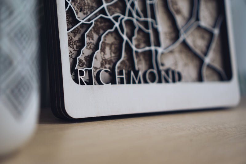 richmond laser cut art