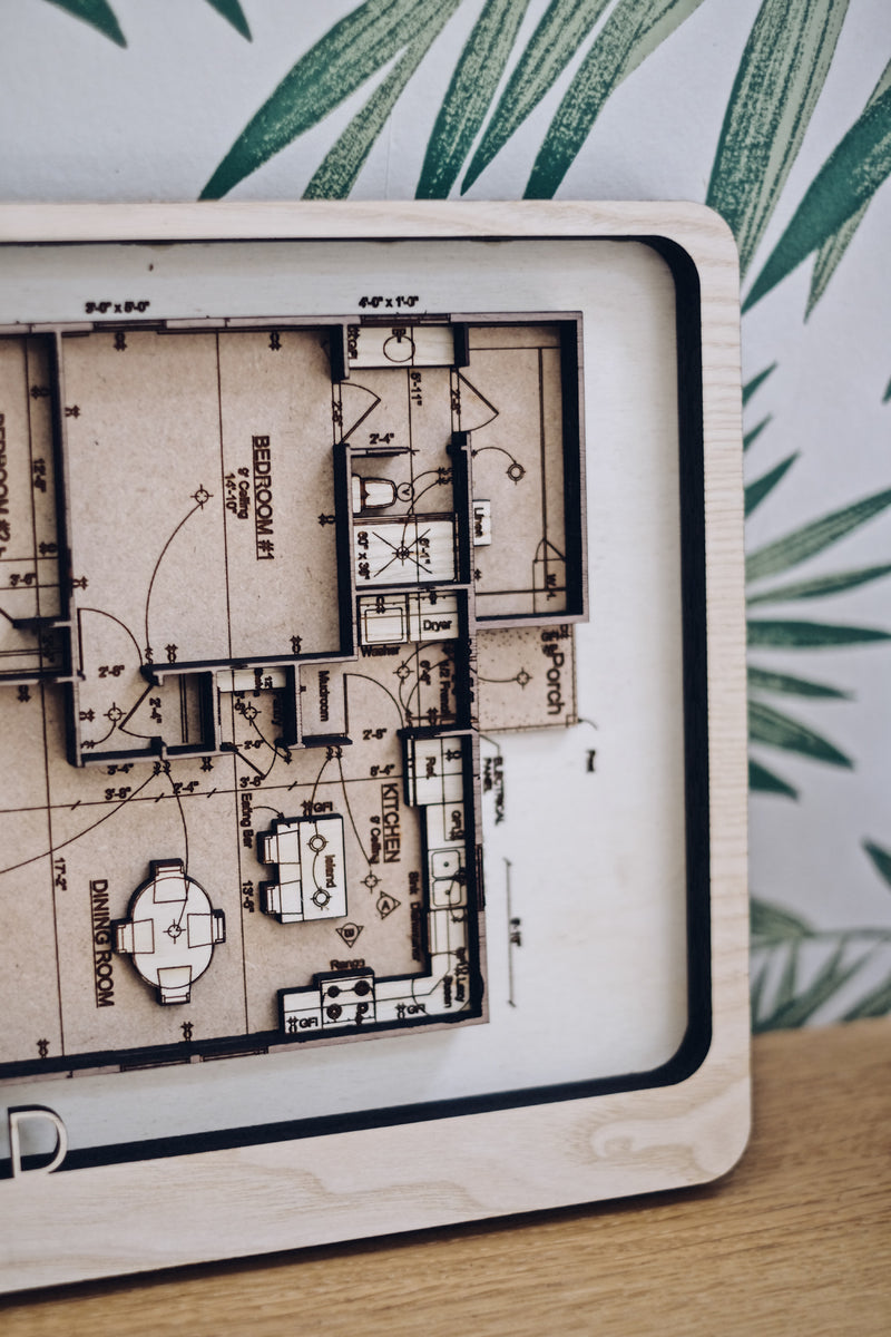 Custom Building Floor Plan Map