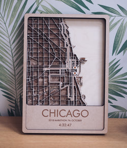 Chicago Marathon Wall Art