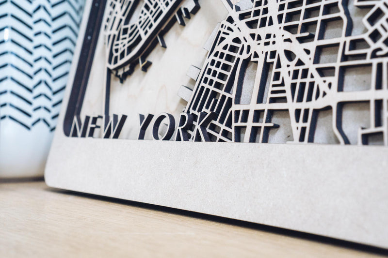 New York Wood art