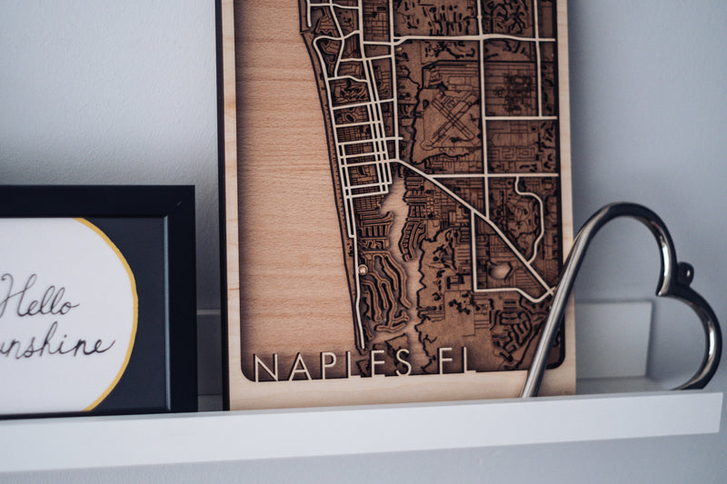 naples wood map