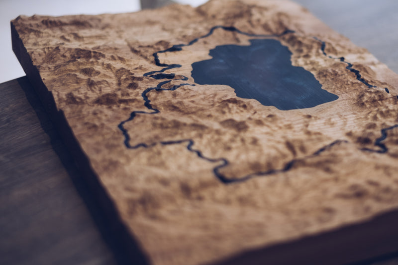 lake tahoe wood map