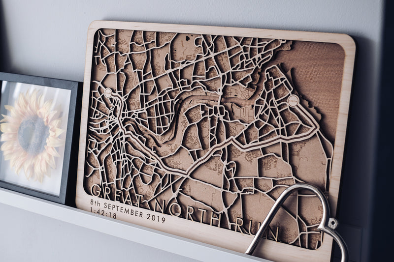 running map wood