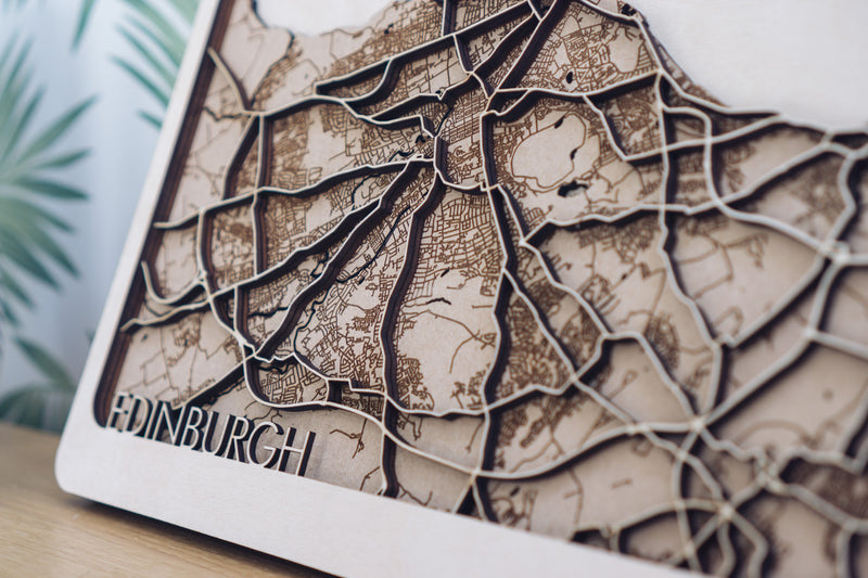 Edinburgh Wood Map