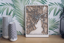New Haven Wood Map