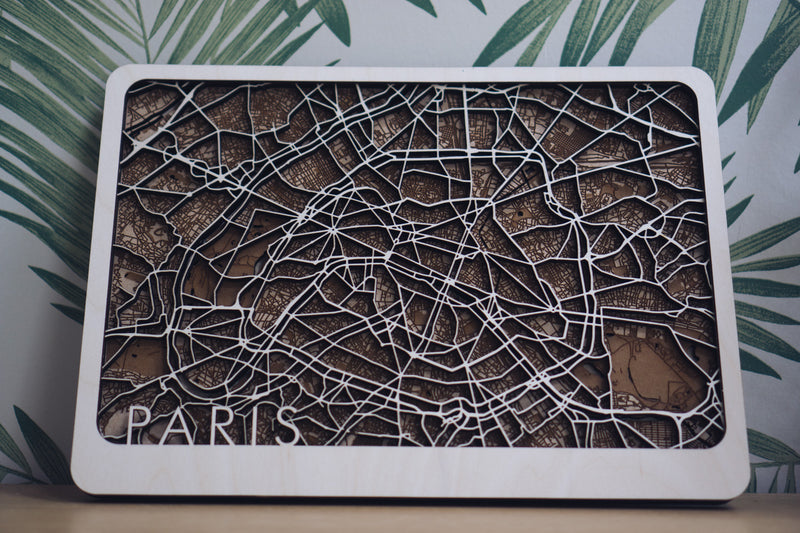 paris wood art