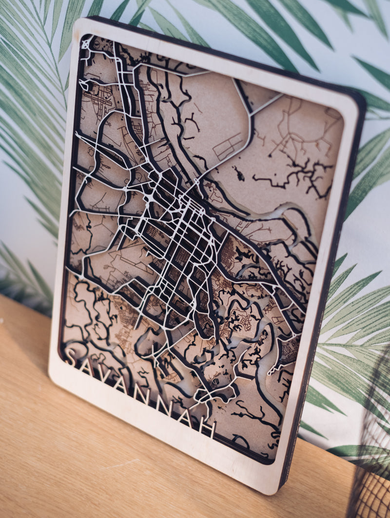savannah laser cut art