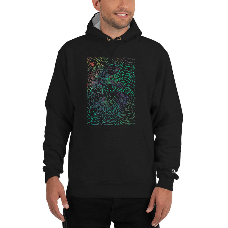 Custom Cartographic Hoodie - Topographic Design
