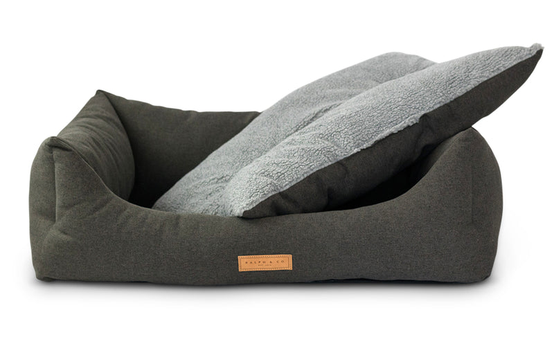 Chenille Dog Bed - Victoria (limited edition)