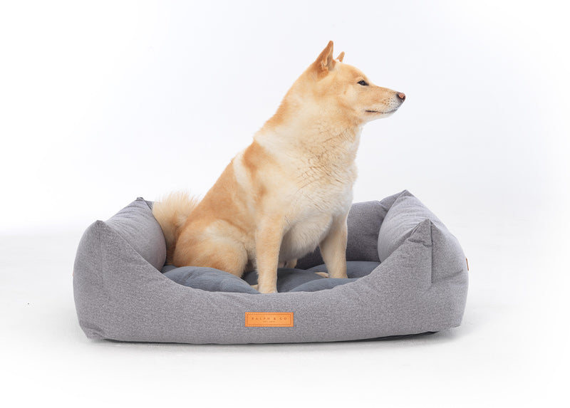 Chenille Dog Bed - Dalton Nest