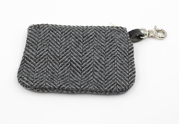 Herringbone Poo Bag Holder - Balmoral