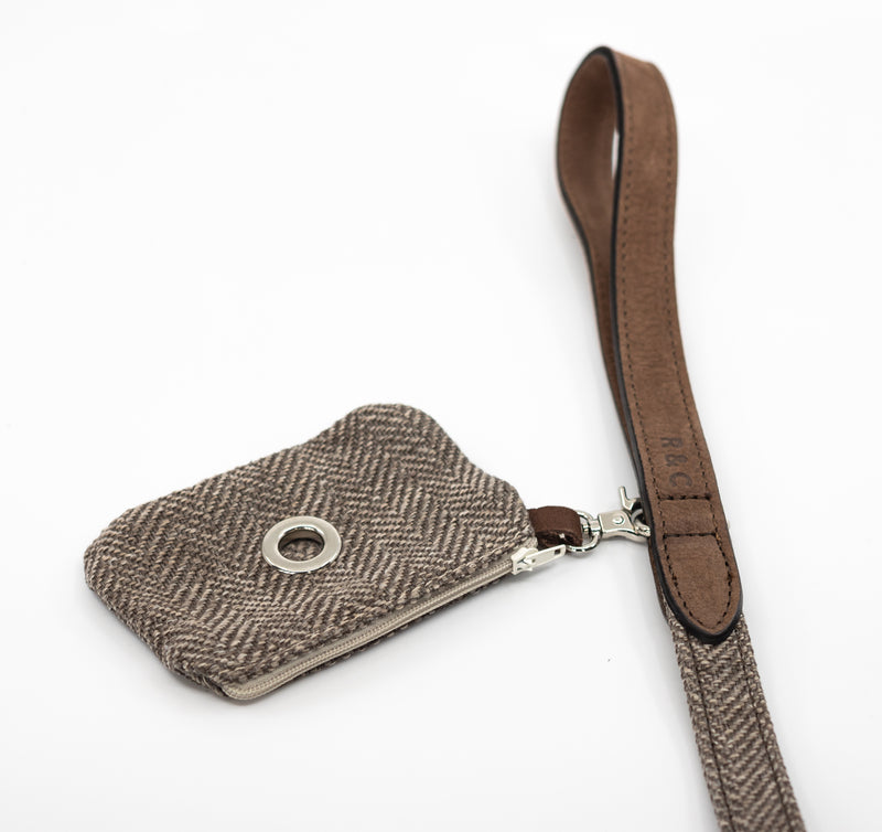 Herringbone Poo Bag Holder - Lincoln