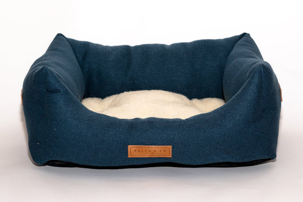 Stonewash Dog Bed - Kensington NEW SHAPE Nest