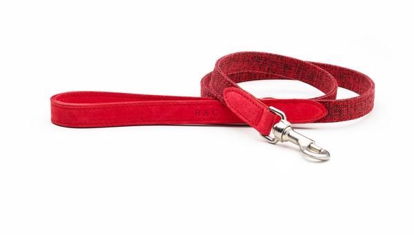 Fabric & Leather Lead - Etna