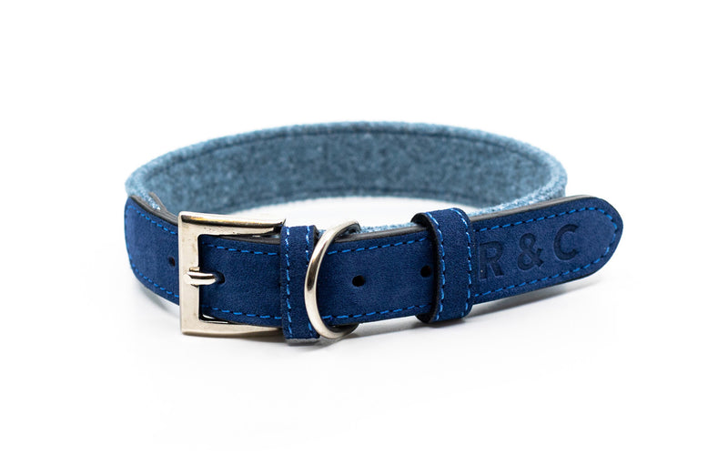Fabric & Leather Collar - Rayleigh