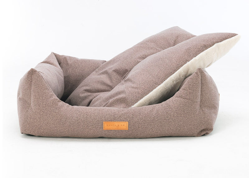 Chenille Dog Bed - Sherbourne Nest