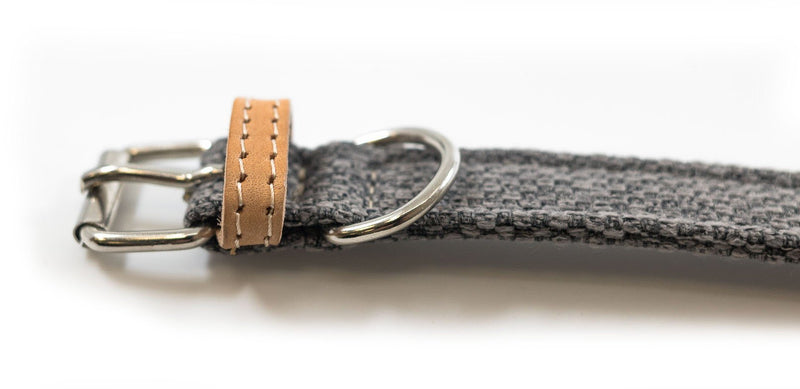 Ralph and Co Fabric & Leather Dog Collar - Windsor