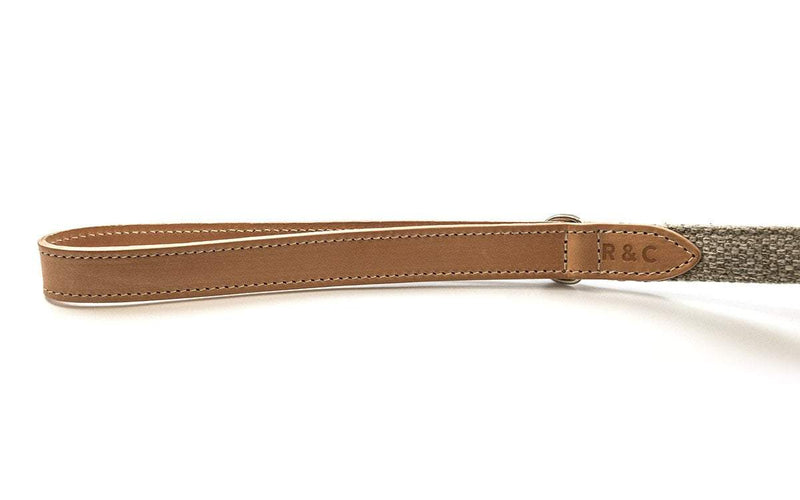 Ralph and Co Fabric & Leather Dog Lead - Hammersmith
