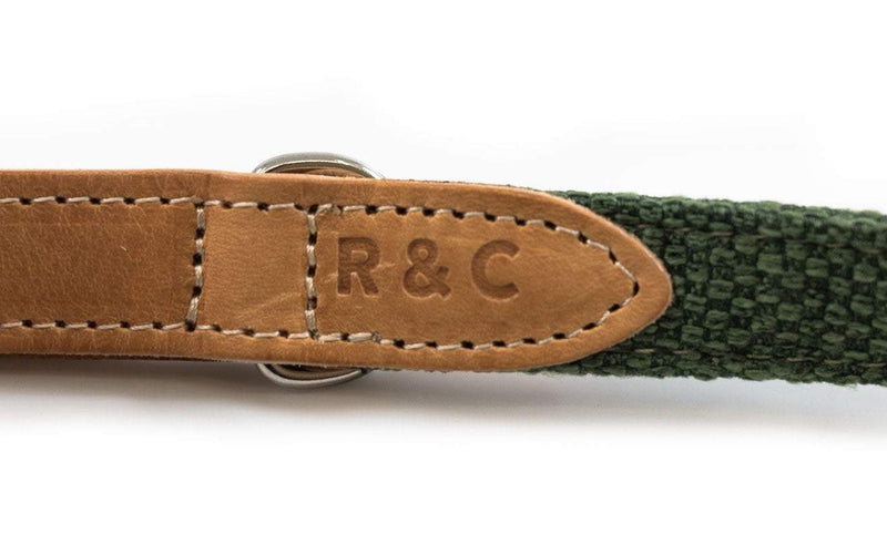 Ralph and Co Fabric & Leather Dog Lead - Richmond