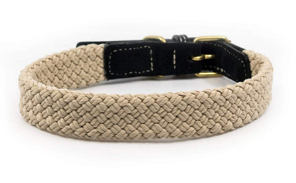 Ralph and Co Flat Rope Dog Collar - Black