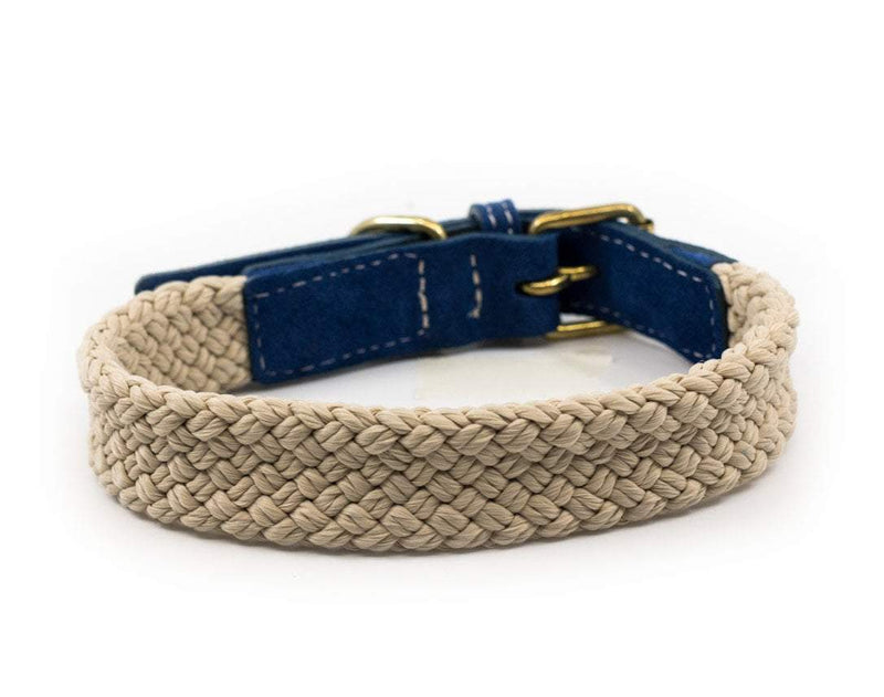 Ralph and Co Flat Rope Dog Collar - Royal Blue