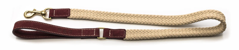 Ralph and Co Flat Rope Dog Lead - Burgundy