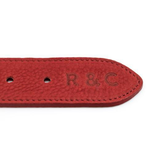 Ralph and Co Nubuck Dog Collar - Como