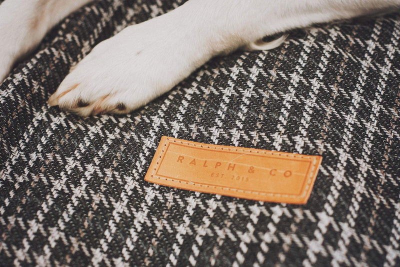 Ralph and Co Tweed Dog Bed - Ascot Cushion