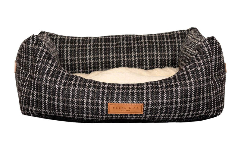 Ralph and Co Tweed Dog Bed - Ascot Nest