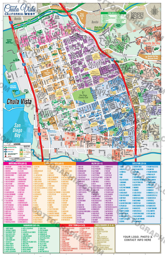 San Diego City Maps