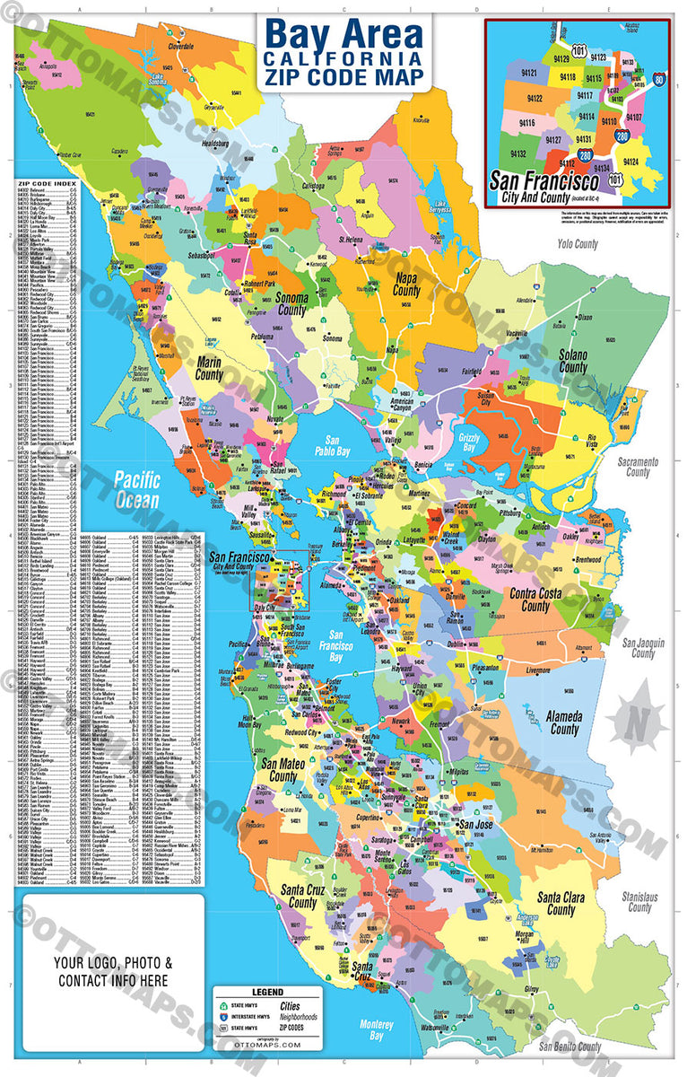 Bay Area Zip Code Map Zip Codes Colorized Otto Maps Mapping displacement, gentrification, and exclusion in the san francisco bay area. otto maps