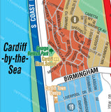 Cardiff by the Sea Map, San Diego County, CA