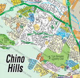 Chino Hills Map - PDF, layered, editable