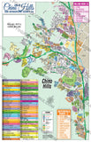 Chino Hills Map, San Bernardino County, CA