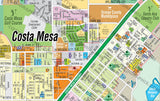 Costa Mesa Map, Orange County, CA