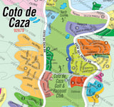 Coto De Caza Map - PDF, layered, editable