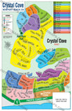 Crystal Cove Map - PDF, layered, editable