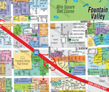 Fountain Valley Map, Orange County, CA