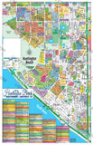 Huntington Beach Map (6 options: Full, North & South, Districts 14, 15 & 17), Orange County, CA